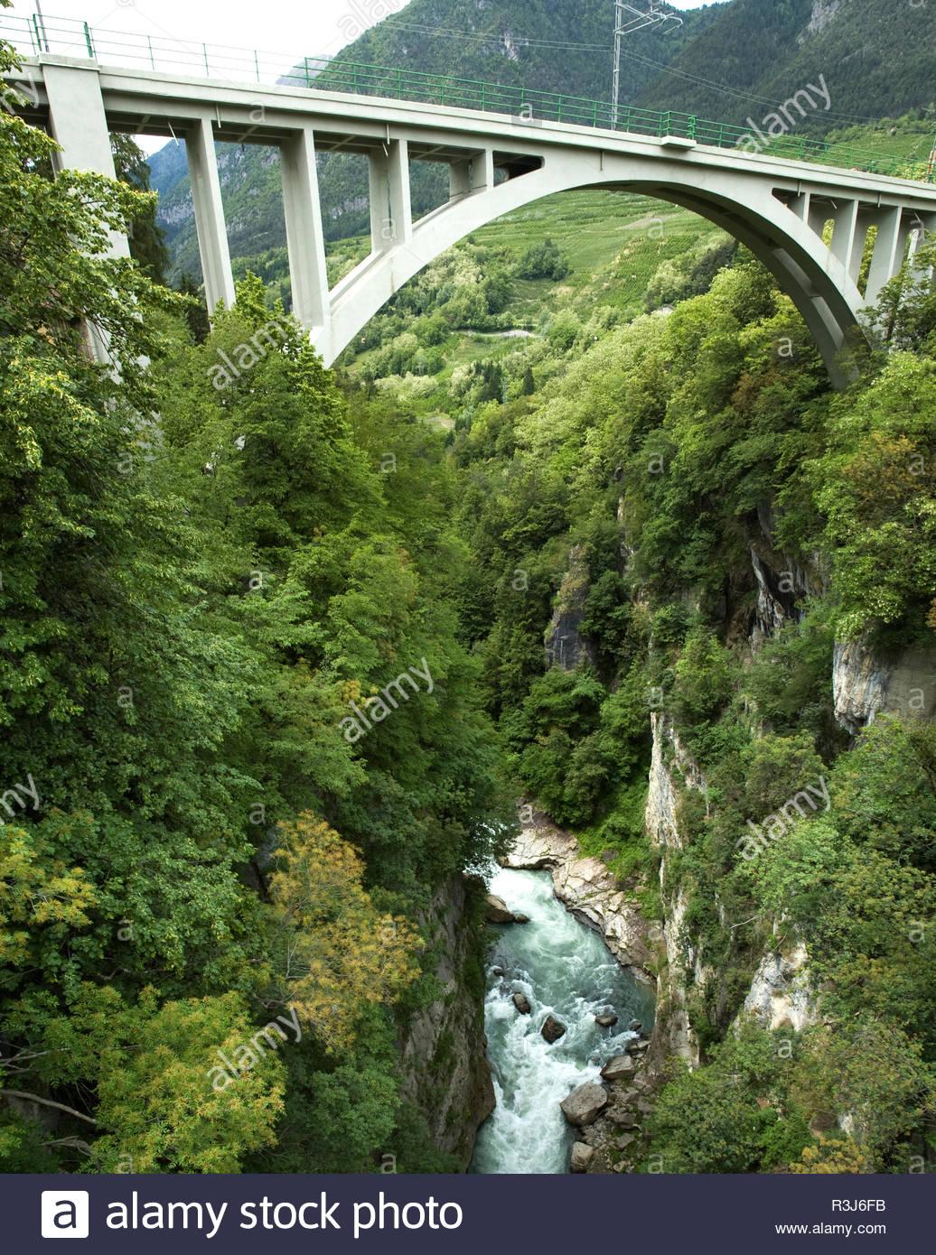 Brücke - Stock Image