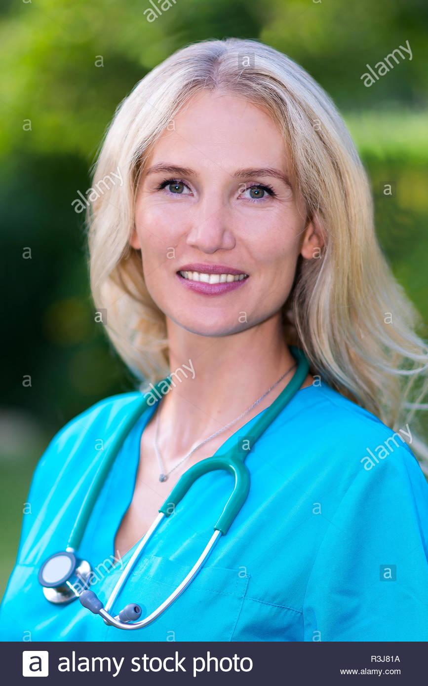 Ärztin - Stock Image