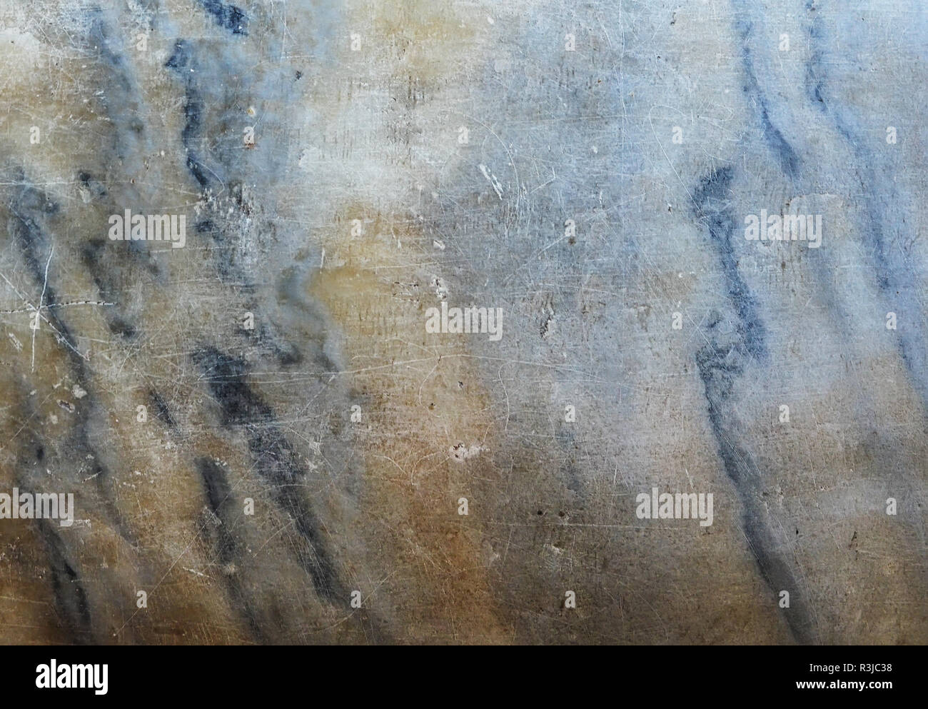 Natural Stone texture for design, Scratched marbled brindle color - Stock Image