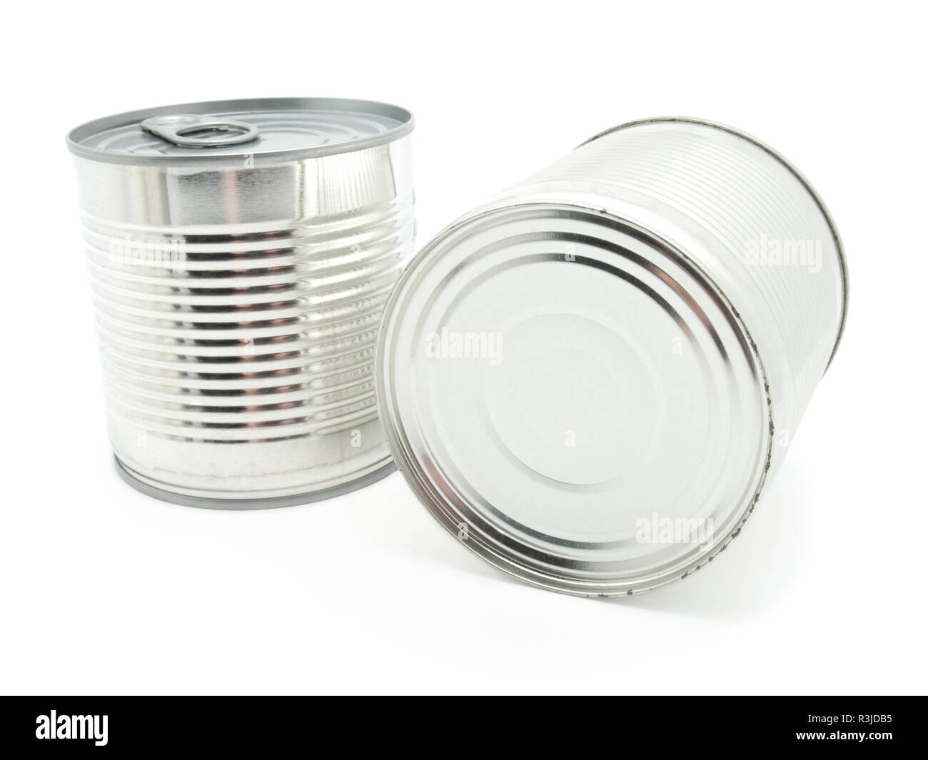 tinned food - Stock Image
