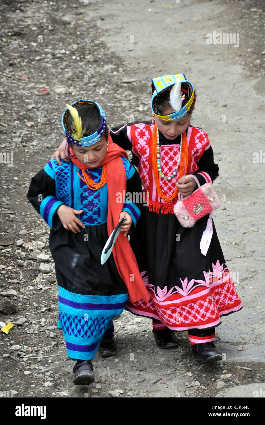 Pakistan, Brum, Kalash festival - Stock Image