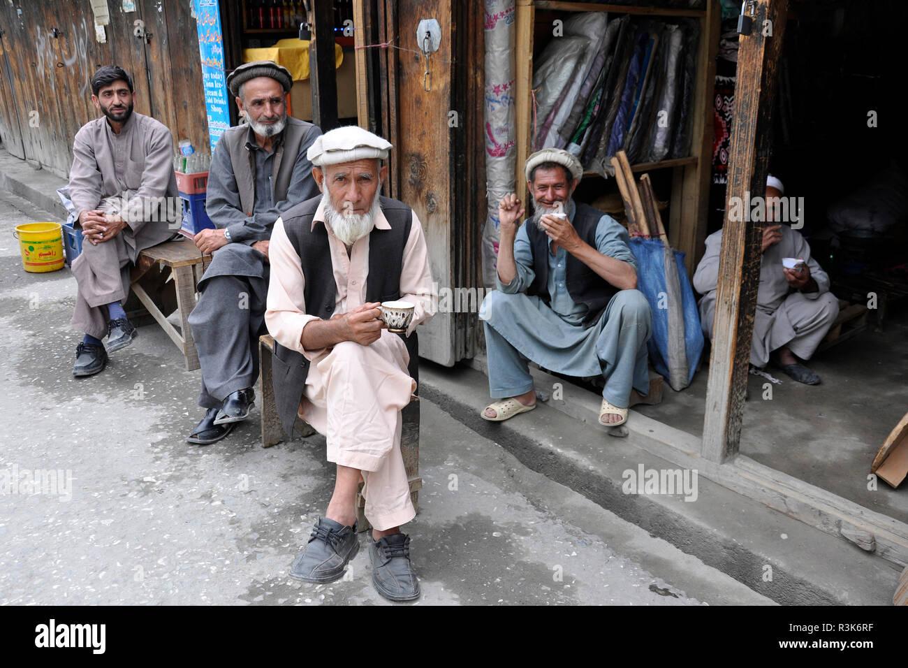 Pakistan, Ayun village - Stock Image