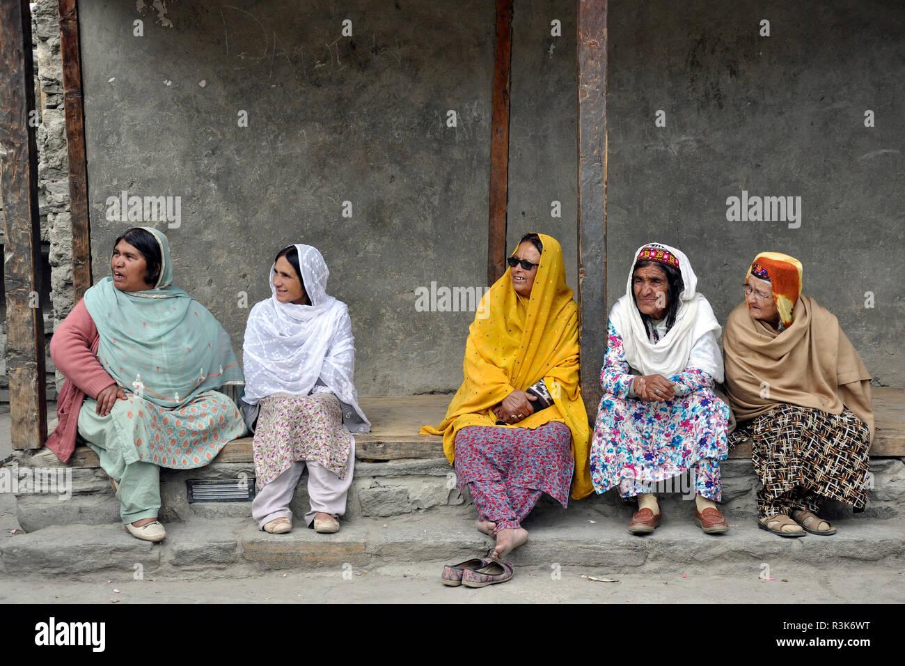 Pakistan, Karimabad village - Stock Image