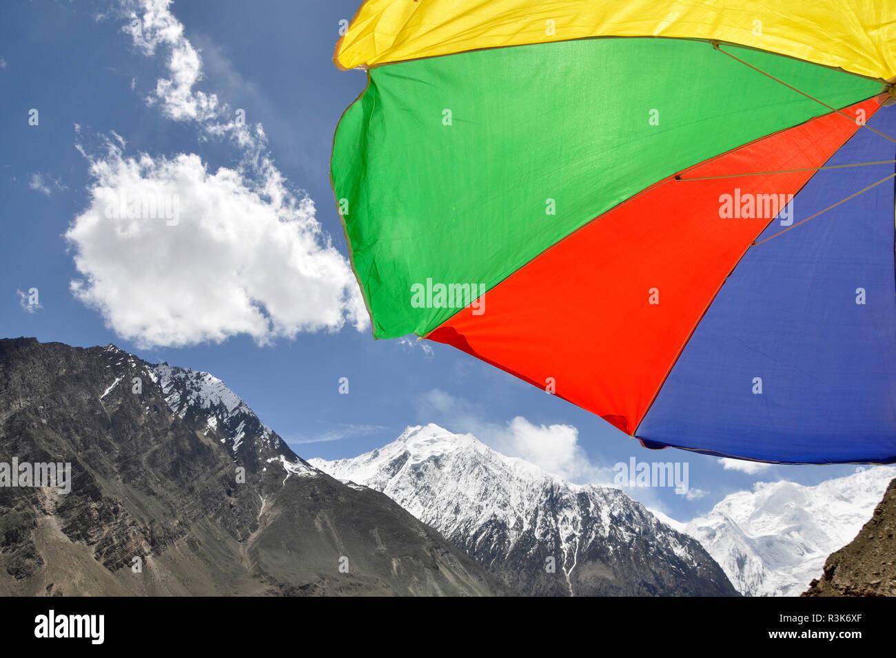 Pakistan, Nagar valley, landscape - Stock Image