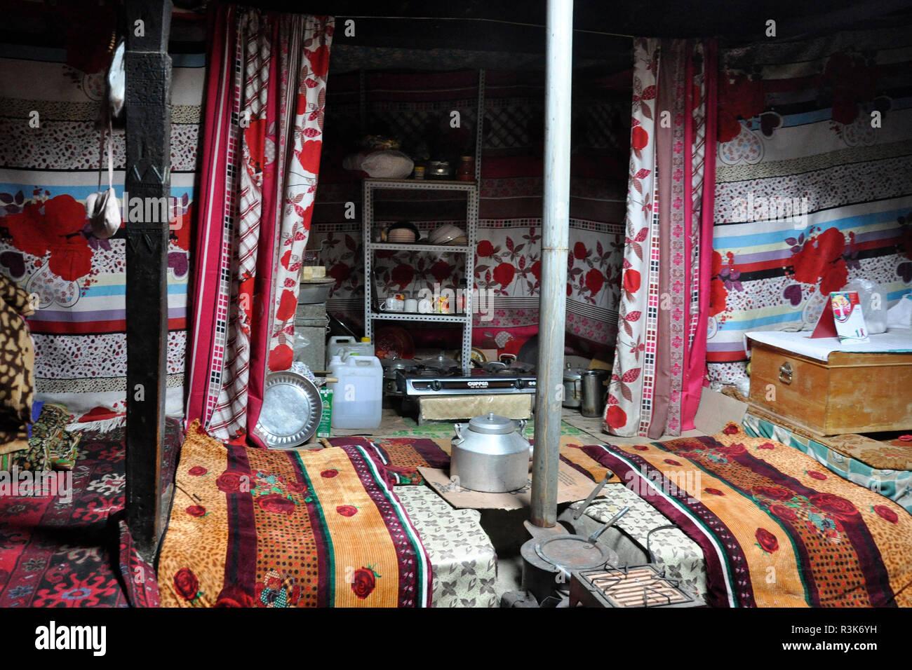 Pakistan, Passu village, house - Stock Image
