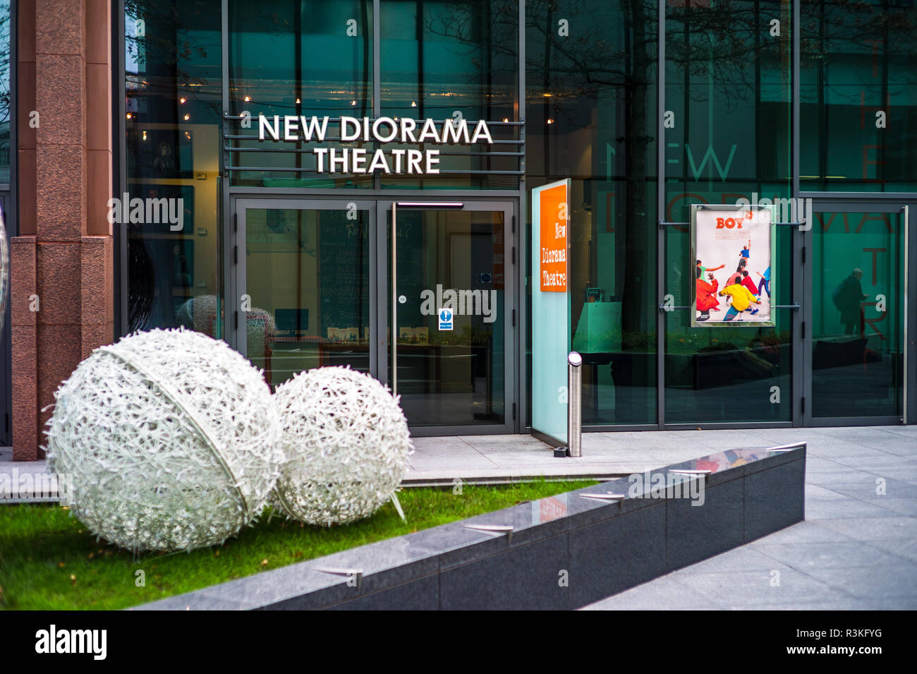 New Diorama Theatre an eighty-seat theatre near Regent's Park in central London, opened in 2010 - Stock Image