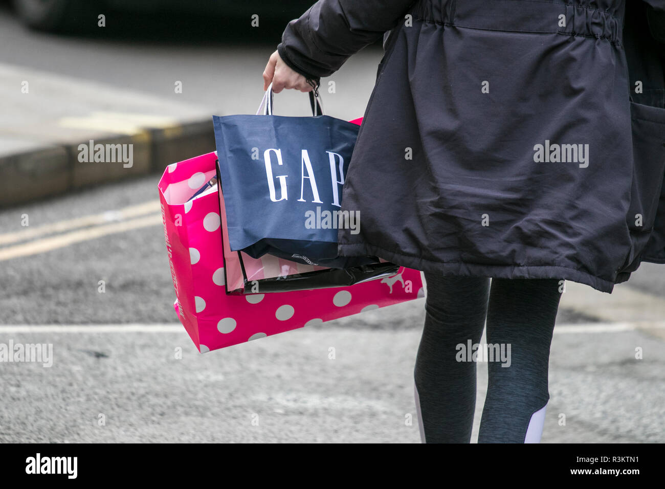 c985b90fb08 Black Friday Sales. 23rd November 2018. People flock to stores to bag high  street bargains on one of the biggest shopping days of the year.