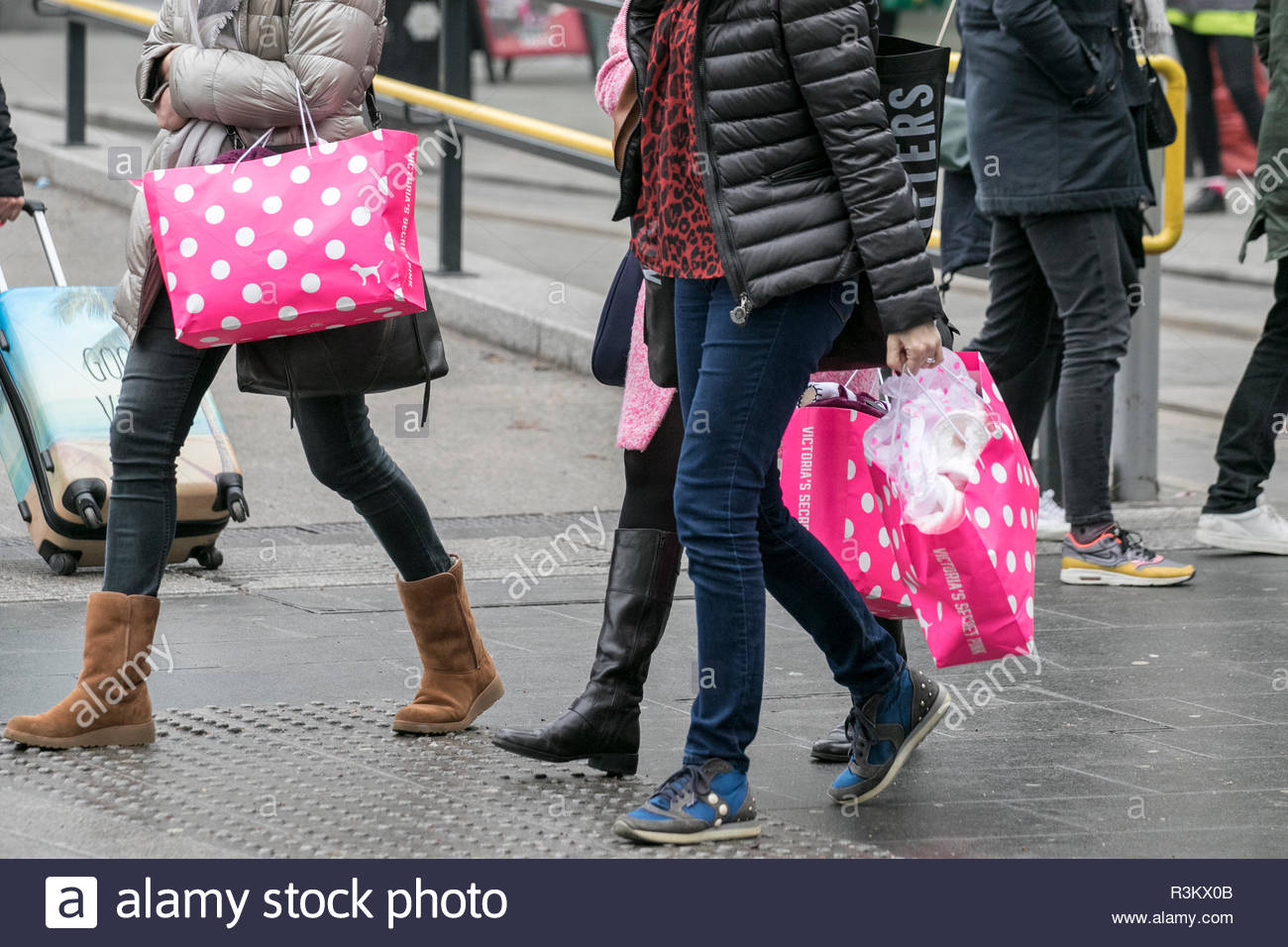 8d0544613a5 Black Friday Sales. 23rd November 2018. People flock to stores to bag high  street bargains on one of the biggest shopping days of the year. victoria s  ...
