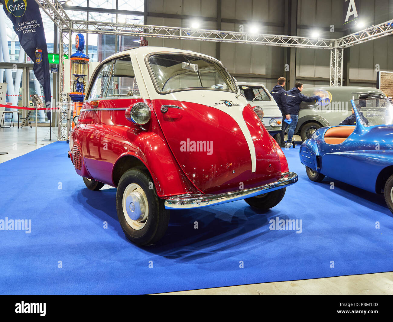 Milan, Lombardy Italy - November 23 , 2018 - BMW 300 Jetta at Autoclassica Milano 2018 edition at Fiera Milano Rho Credit: Armando Borges/Alamy Live News - Stock Image