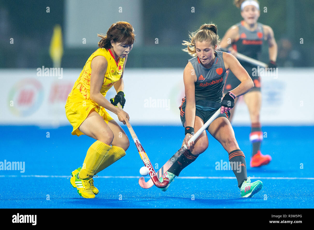 Changzhou, China 24 November 2018 Champions Trophy: Netherlands v China Xan de Waard of The Netherlands Credit: Orange Pictures vof/Alamy Live News Stock Photo