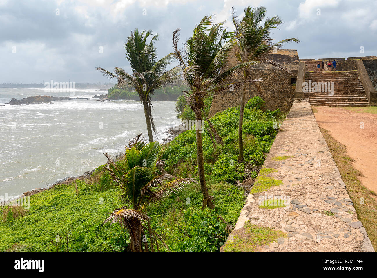 Galle fort, old town of Galle, Sri lanka - Stock Image