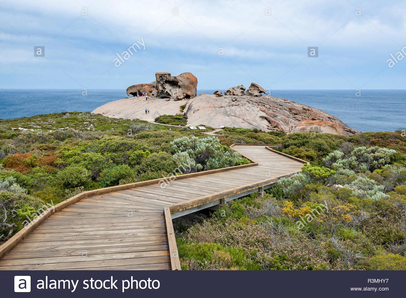 Remarkable rocks in the Flinders National Park Chase, Kangaroo island, South Australia Stock Photo