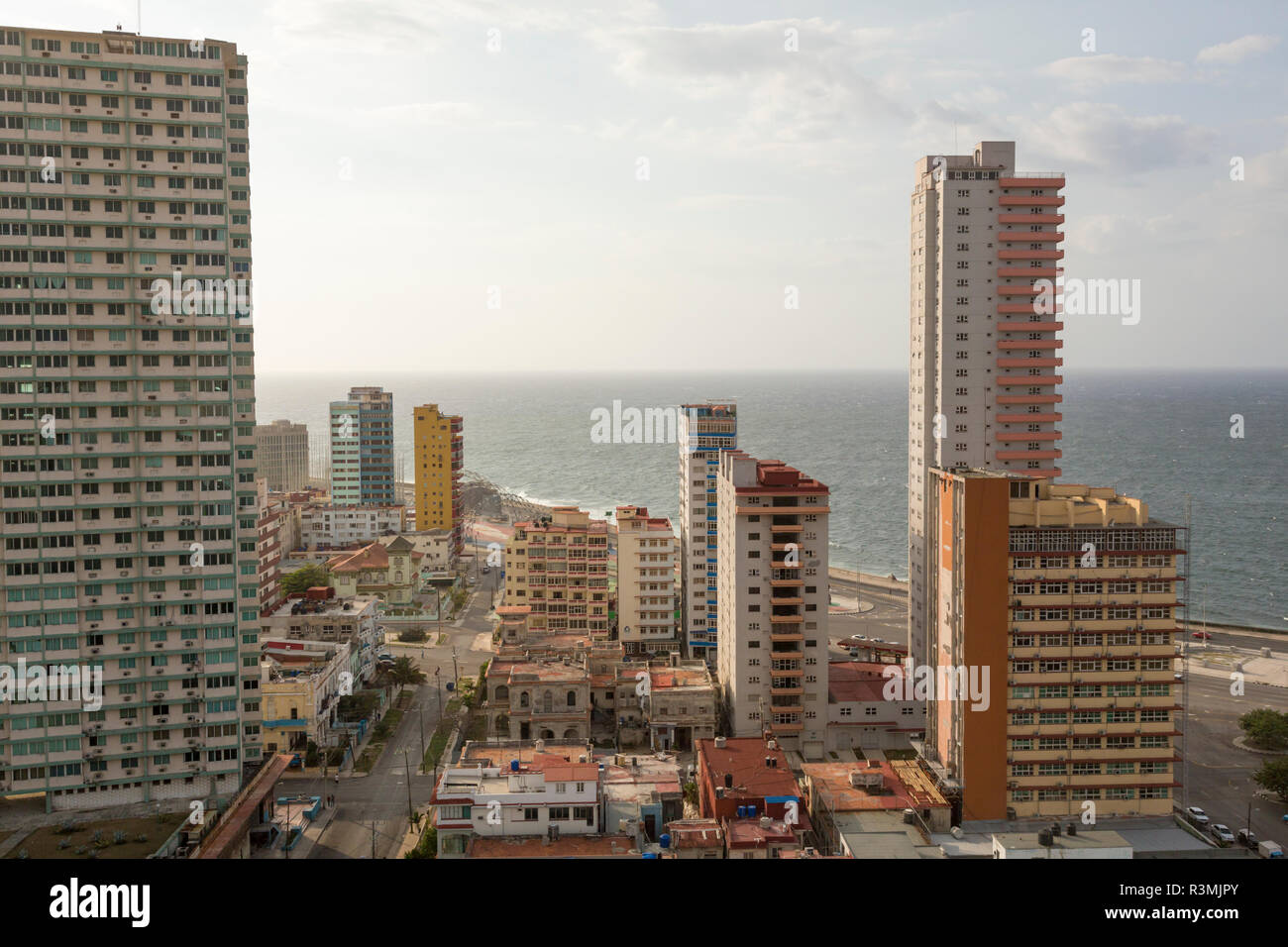 Cuba, Havana. View of the city and Havana Harbor. Credit as: Wendy Kaveney / Jaynes Gallery / DanitaDelimont.com Stock Photo