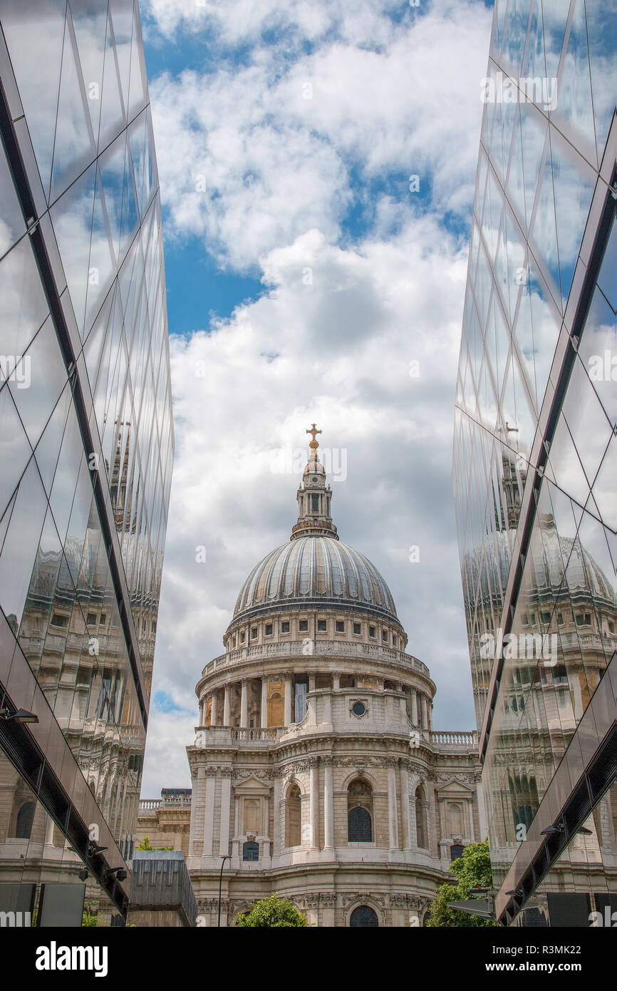 St Paul Cathedral in London, England Stock Photo
