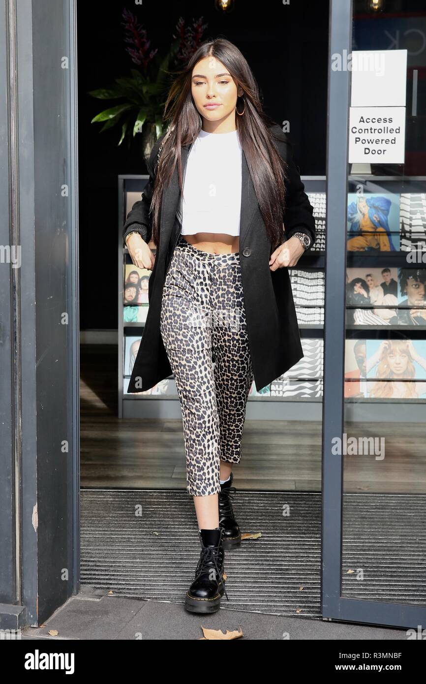 40e42a572c79 Madison Beer seen leaving a photoshoot at VEVO Featuring: Madison Beer  Where: London, United Kingdom When: 23 Oct 2018 Credit: Michael  Wright/WENN.com