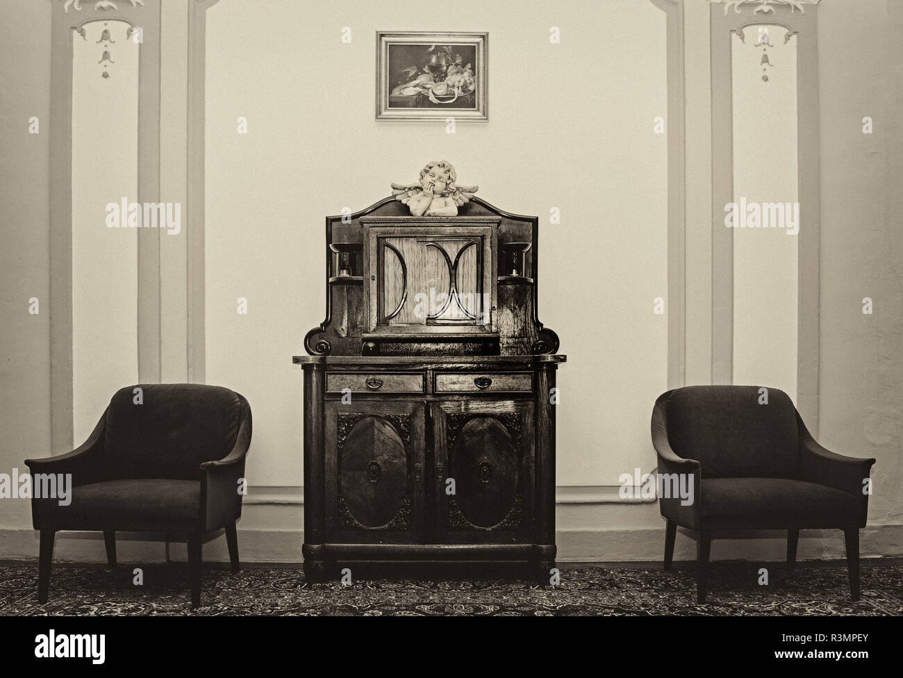 Wartezimmer - Stock Image