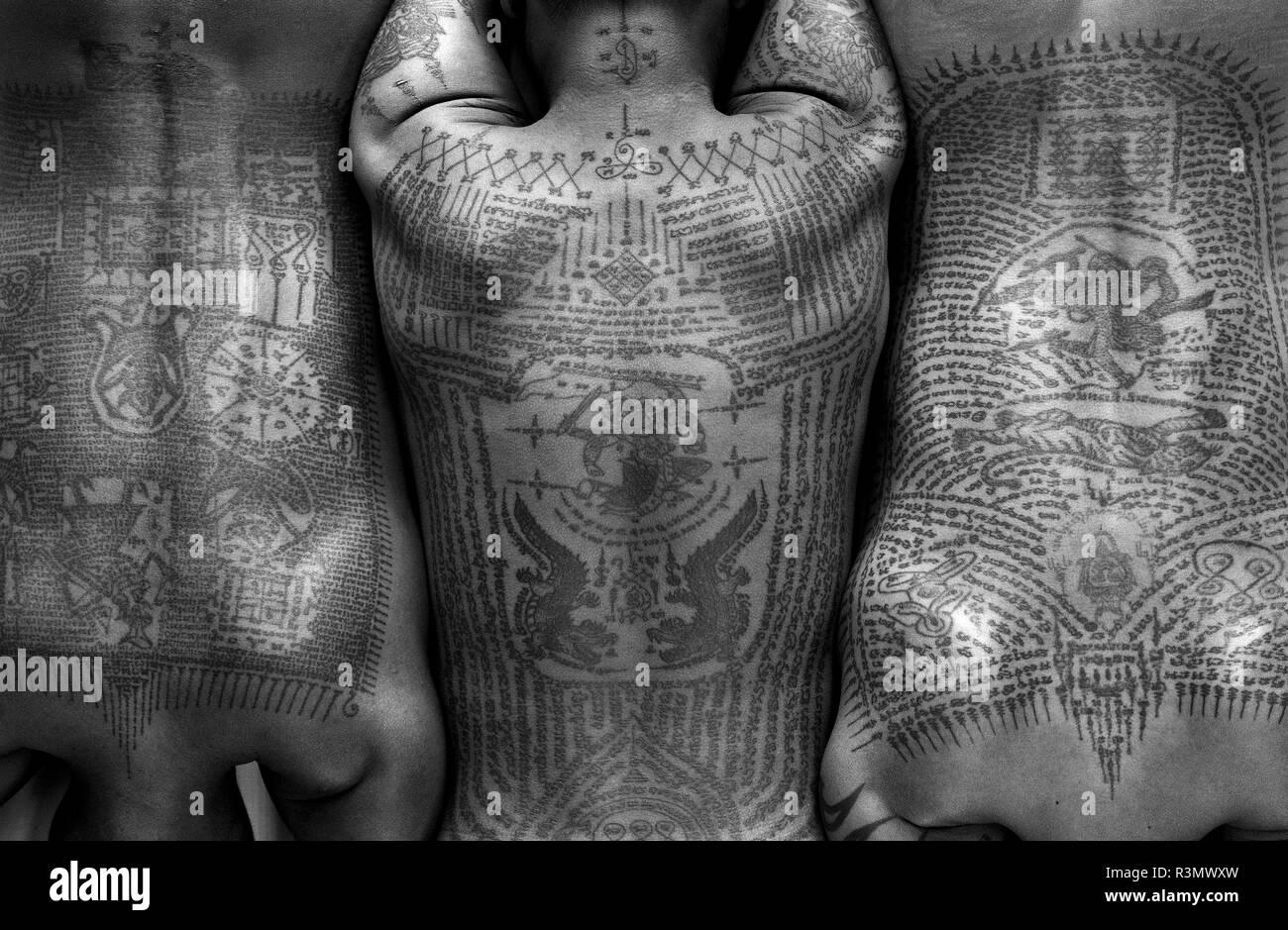Thai buddhist tattoos traditional Everything You