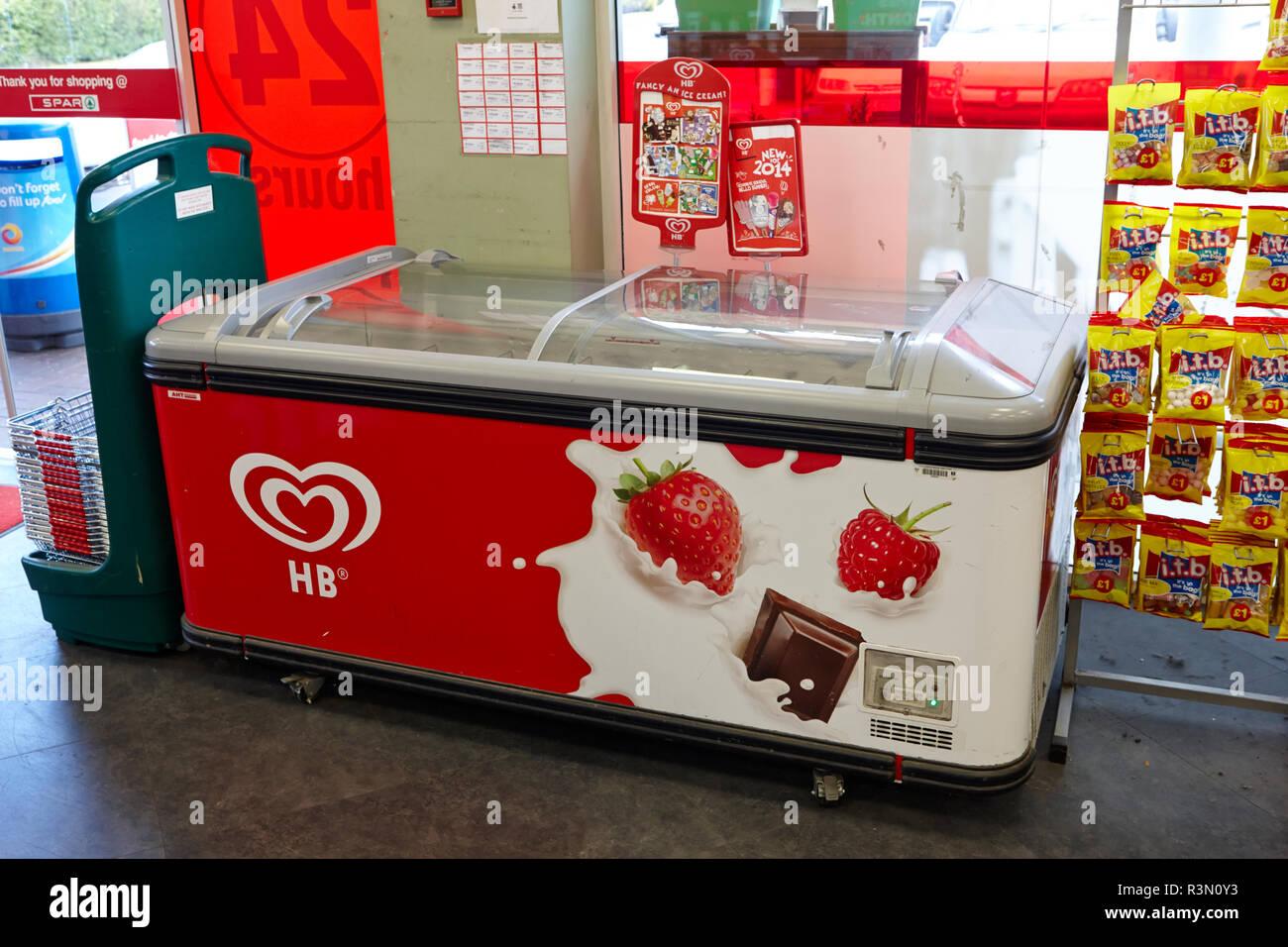 Ice Cream Freezer Stock Photos & Ice Cream Freezer Stock Images - Alamy