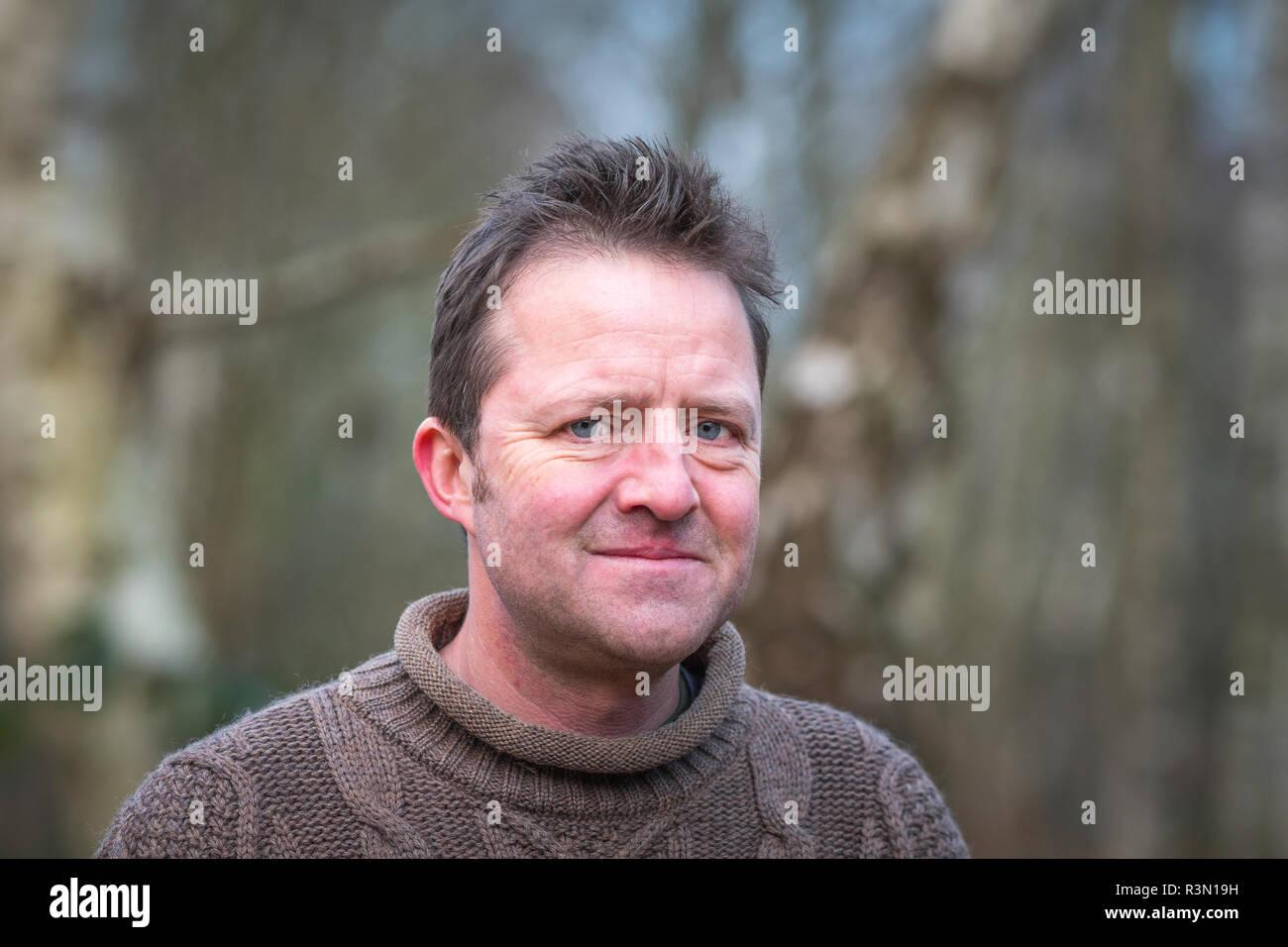 Fergus Collins editor of Countryfile Magazine. - Stock Image