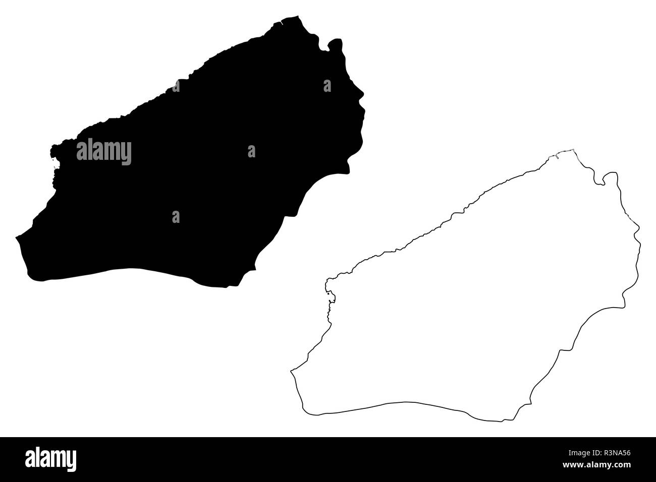 Zonguldak (Provinces of the Republic of Turkey) map vector illustration, scribble sketch Zonguldak ili map - Stock Image