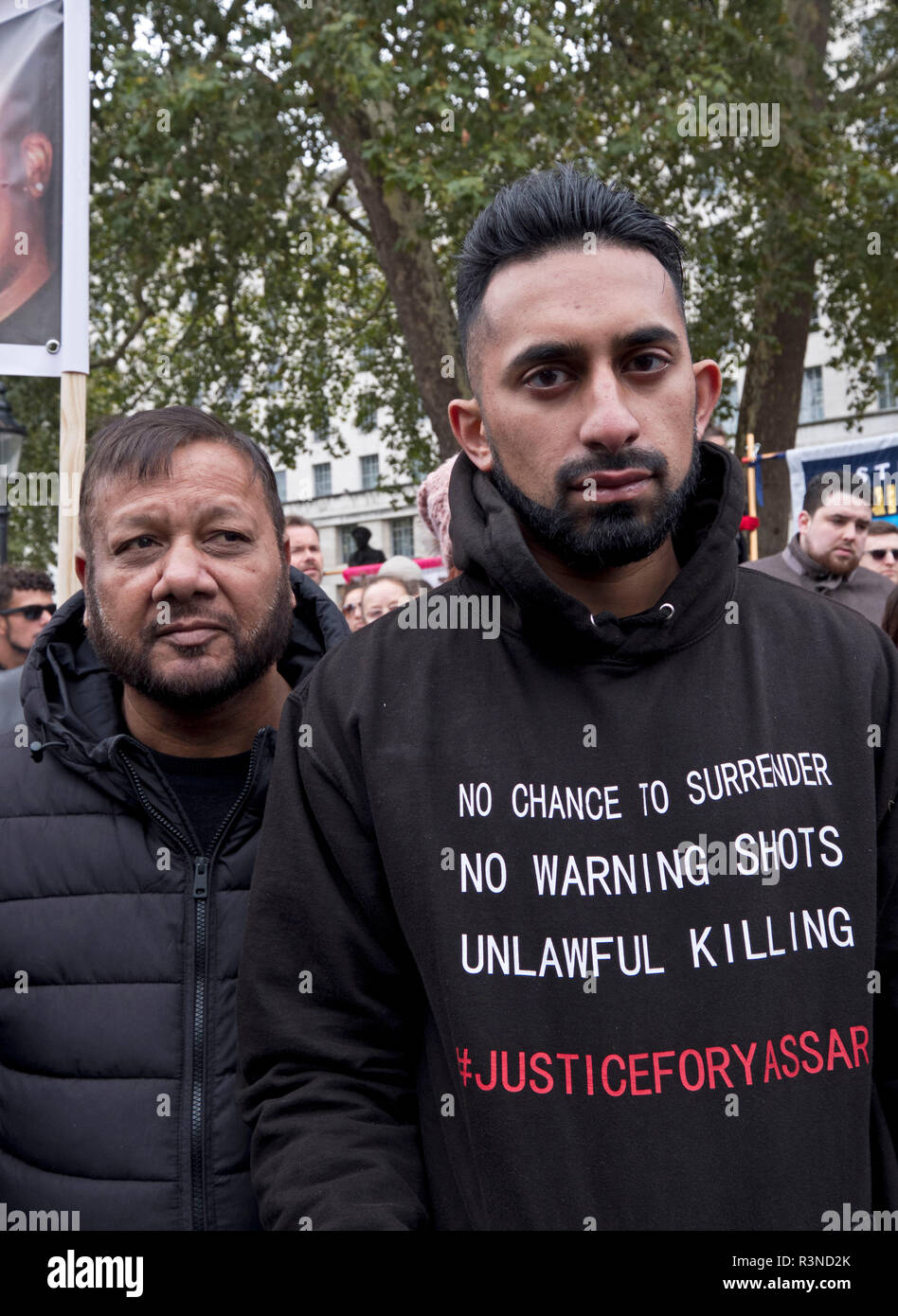"""20th anniversary of the annual procession of  'United Families and Friends Campaign""""'. The UFFC is a coalition of people killed by police, in prisons, in immigration detention and detention and in secure psychiatric hospitals. Stock Photo"""