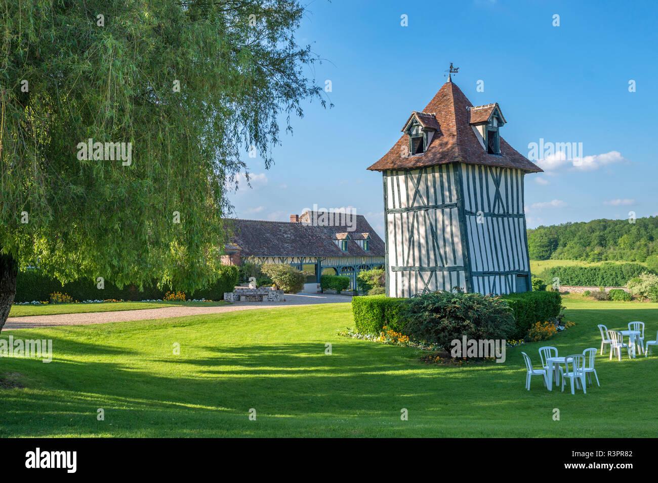 Commanderie de Templiers, Vexin region, France - Stock Image