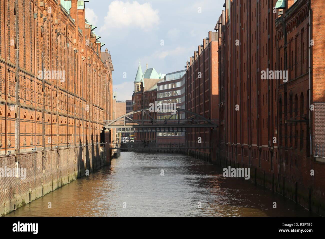 speichertstadt - Stock Image