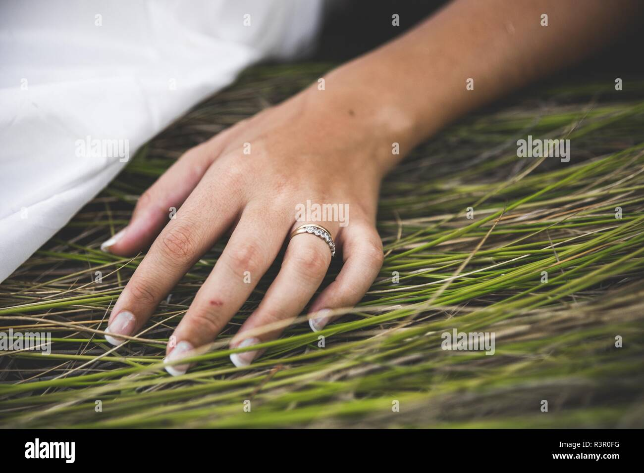Male Female Hands Engagement Rings Stock Photos Male Female Hands