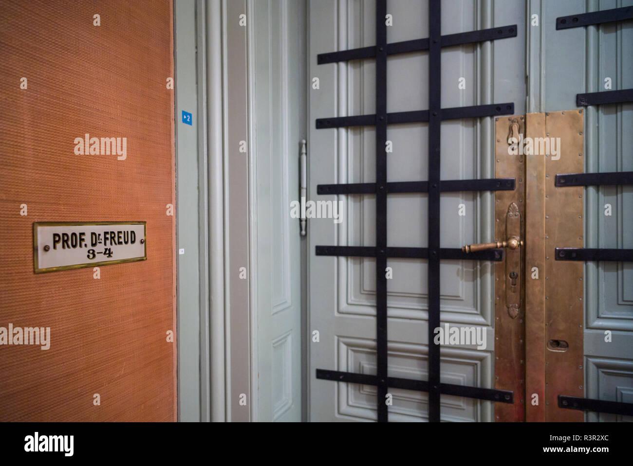 Austria, Vienna, Sigmund Freud Museum interior (Editorial Use Only) - Stock Image