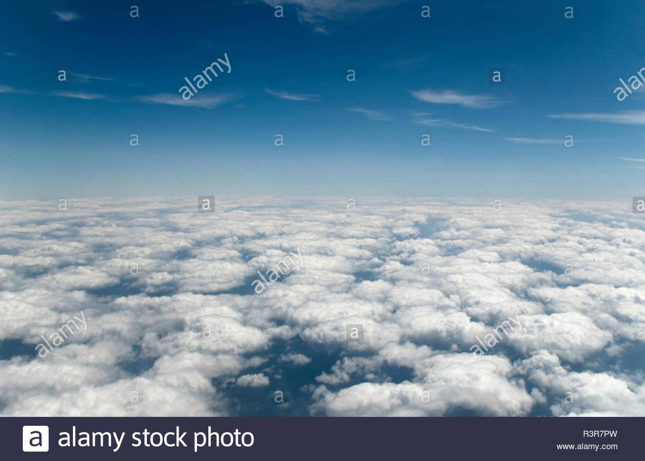 Über den Wolken - Stock Image