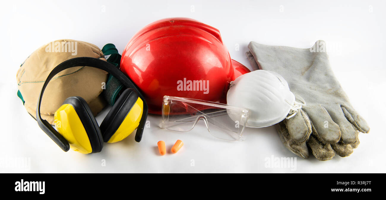 workman's Safety Gear - Stock Image