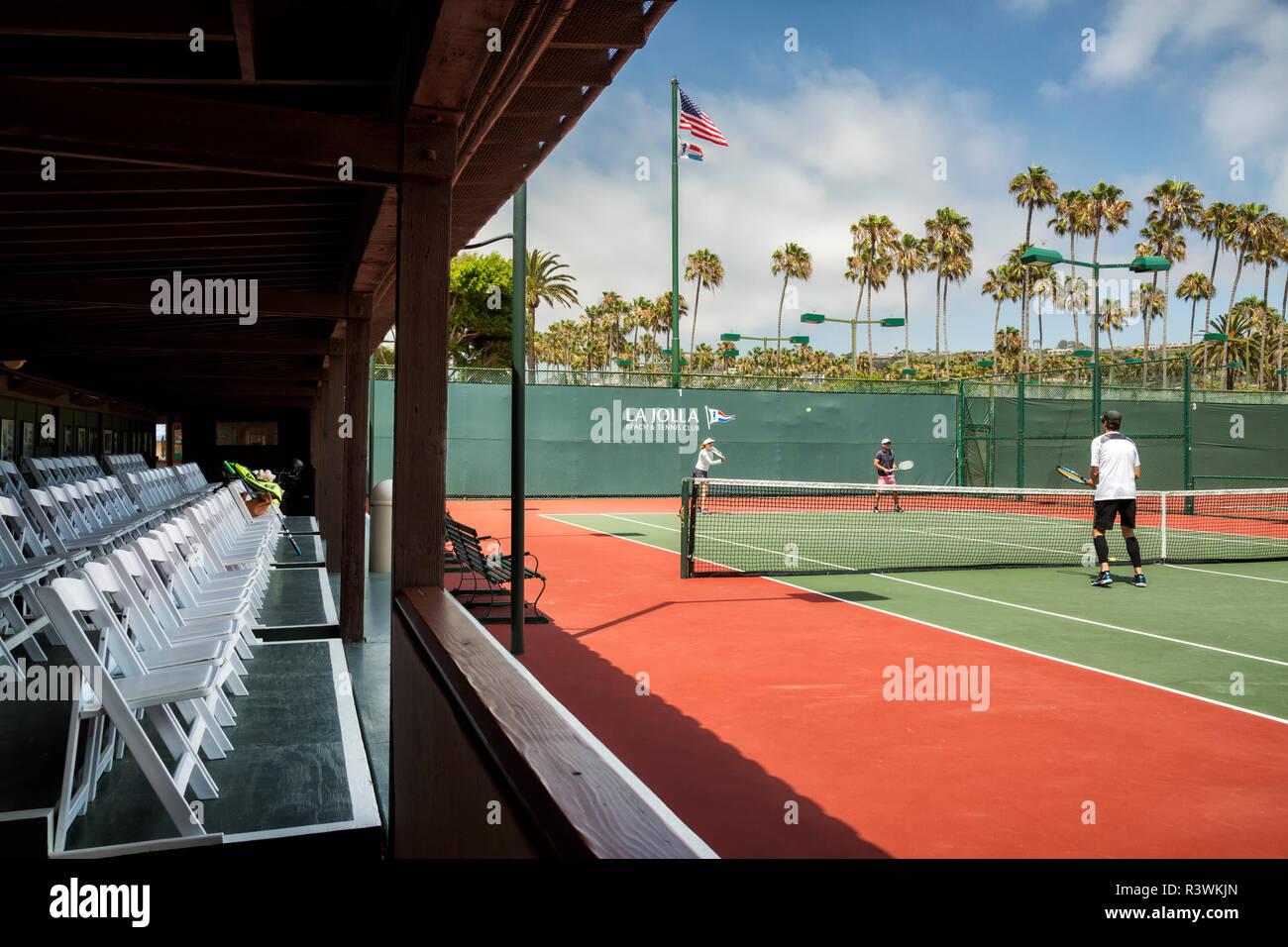 Usa California La Jolla Court 1 At The La Jolla Beach And Tennis