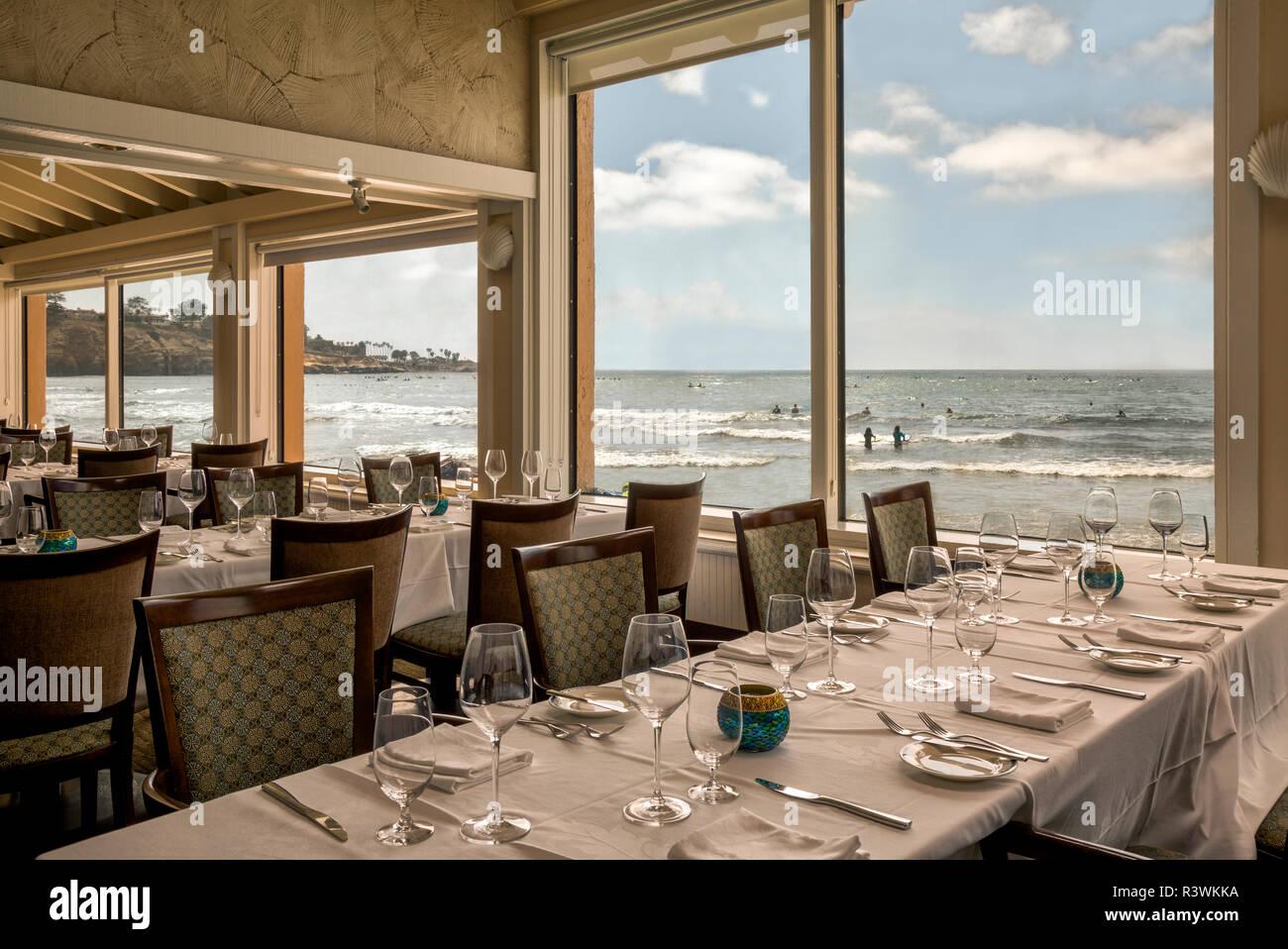 Usa California La Jolla The Marine Room Restaurant At La