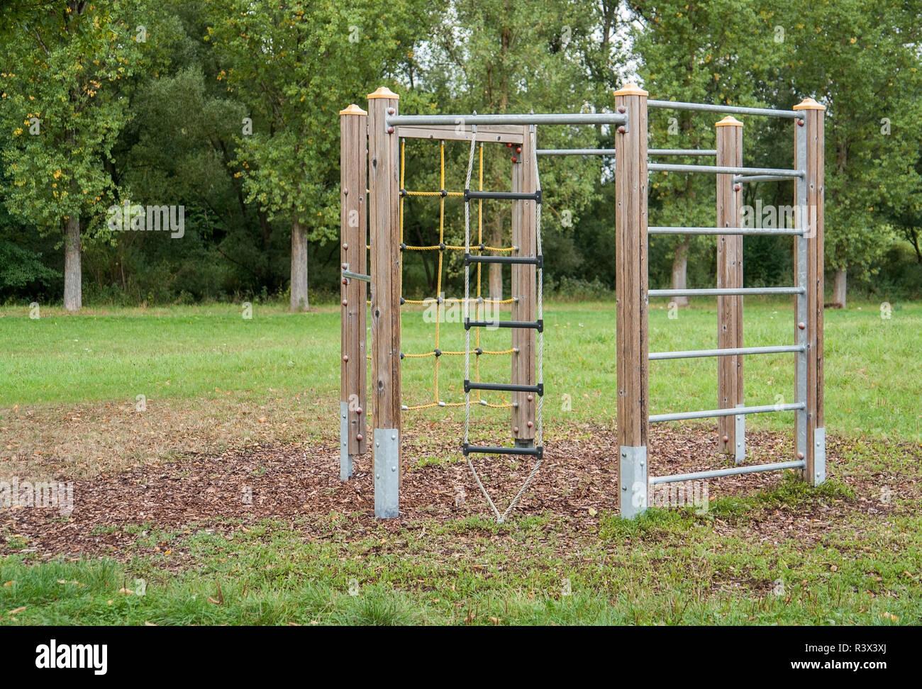 climbing frame Stock Photo
