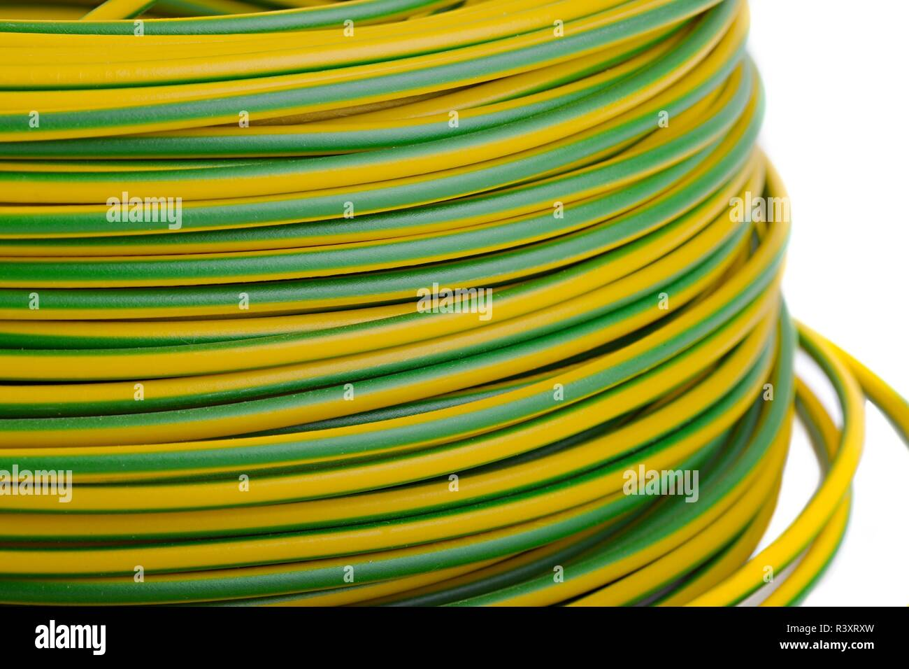 Insulated Soil Stock Photos Images Alamy Wiring Icf Basement Cable Roll Image