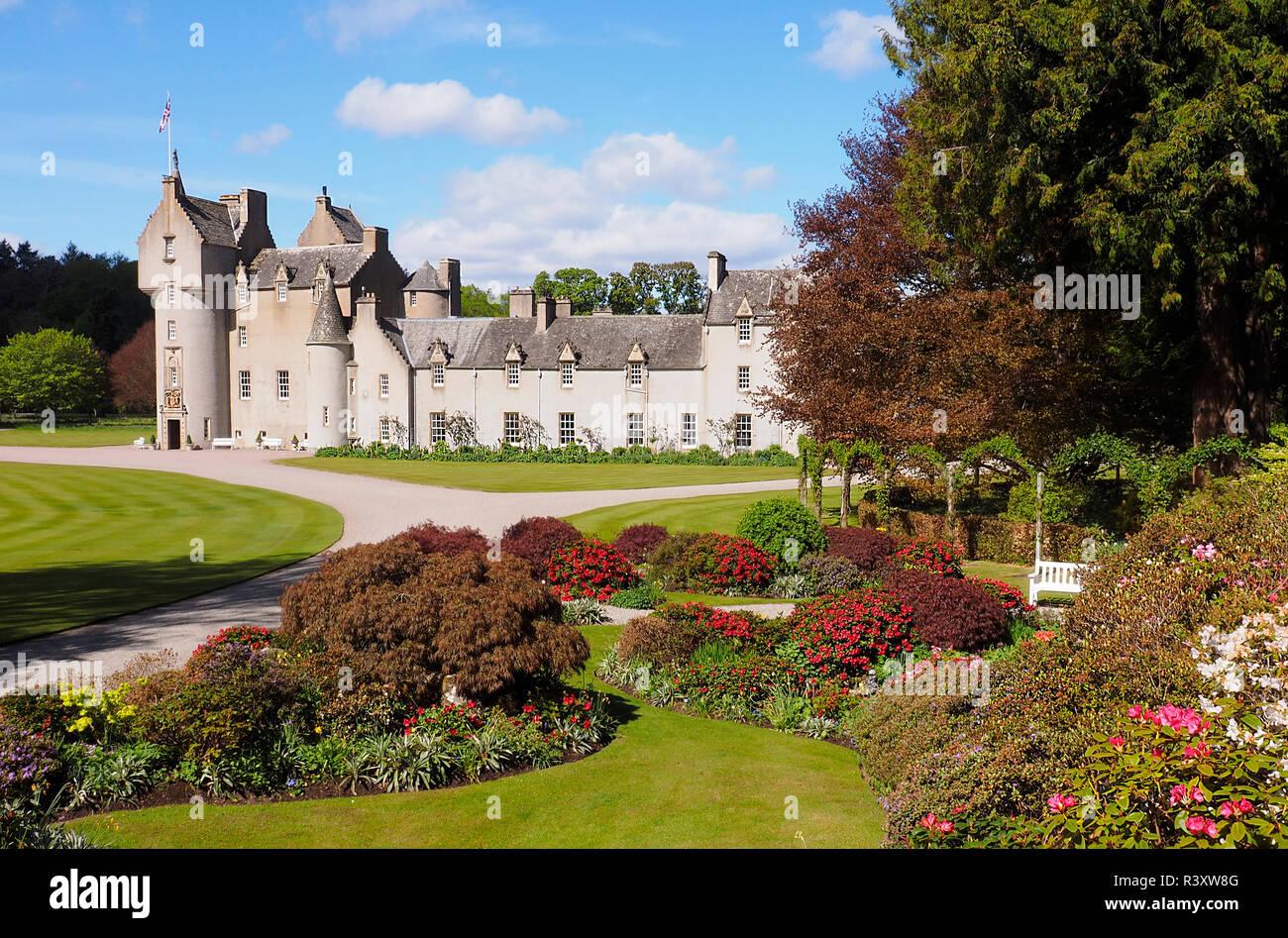 Ballindalloch Castle Scottish Highlands - Stock Image