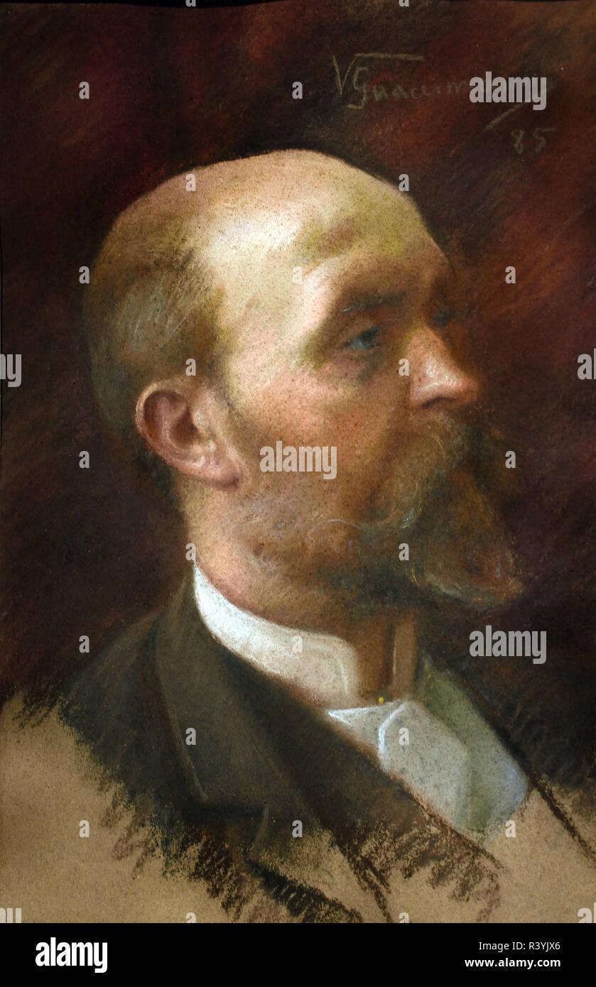Arturo Moradei 1885 by Vittorio Guaccimanni 1859-1938  Italy, Italian. - Stock Image