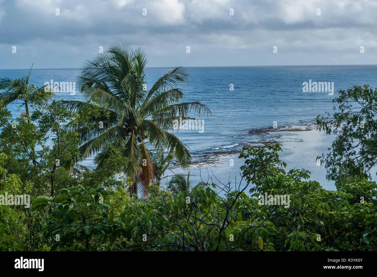 Hawaii, Kauai, Napali, Napali Coast State Park, Pacific Ocean Stock Photo