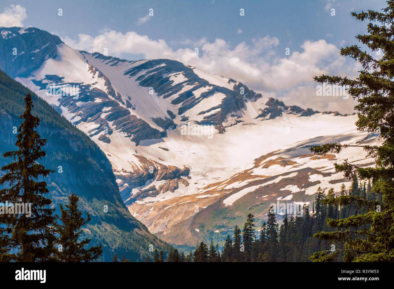 Glacier National Park, Montana. Jackson Glacier Stock Photo