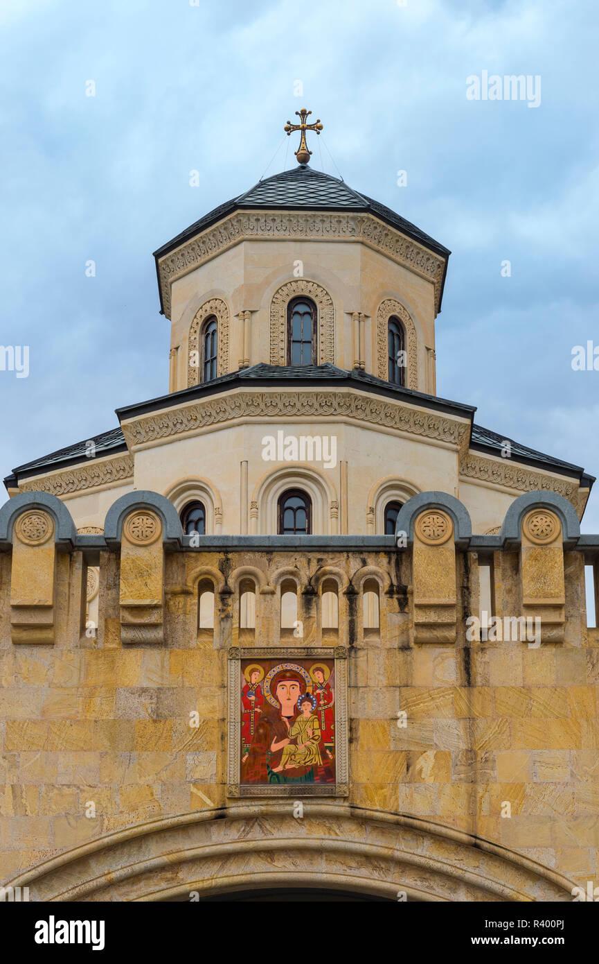 Holy Trinity Cathedral, Tbilisi, Georgia Stock Photo