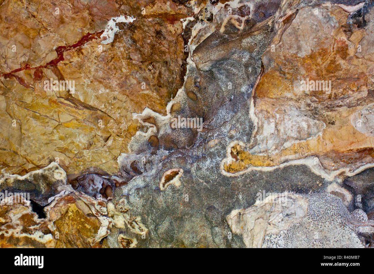 USA, South Dakota, Custer, Jewel Cave National Monument, Scenic Tour, Mosaic - Stock Image