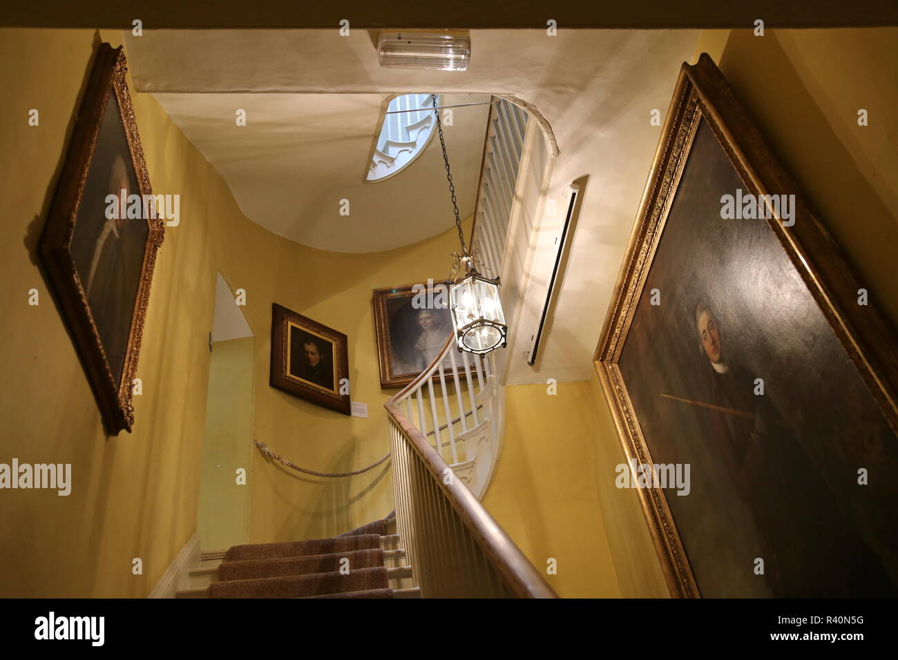 Gainsborough's House museum, Gainsborough Street, Sudbury, Babergh district, Suffolk, East Anglia, England, Great Britain, United Kingdom, UK, Europe - Stock Image