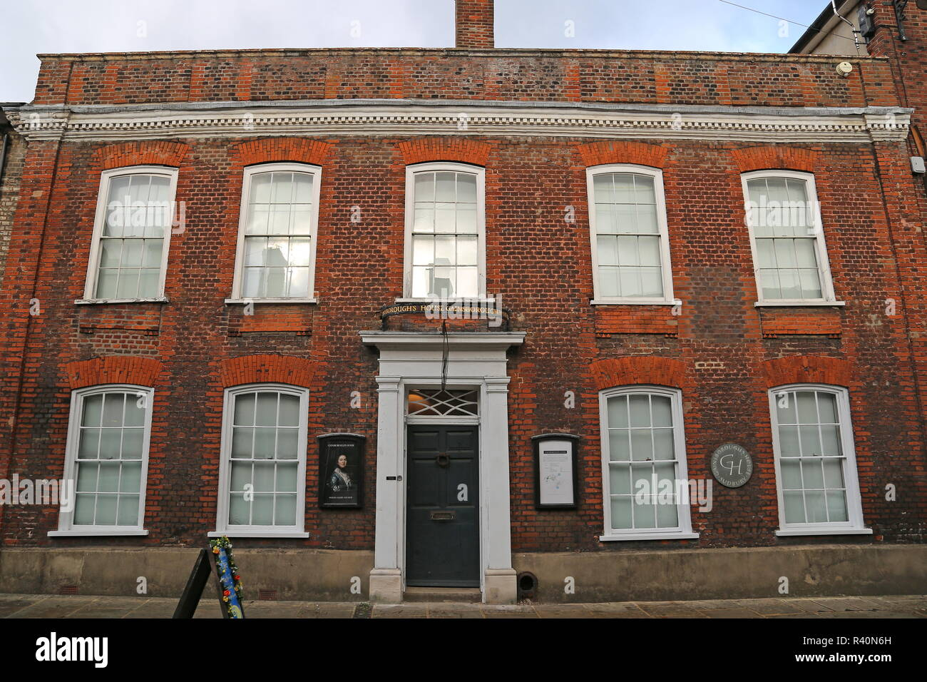 Gainsborough's House museum, Gainsborough Street, Sudbury, Babergh district, Suffolk, East Anglia, England, Great Britain, United Kingdom, UK, Europe - Stock Image