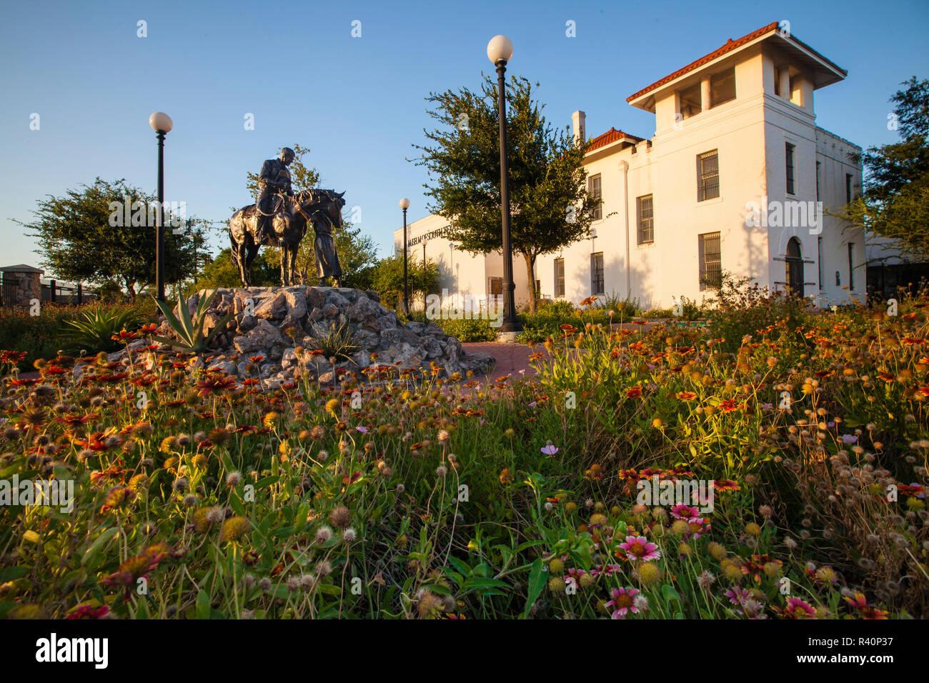 Museum of South Texas History in Edinburg, Texas. - Stock Image