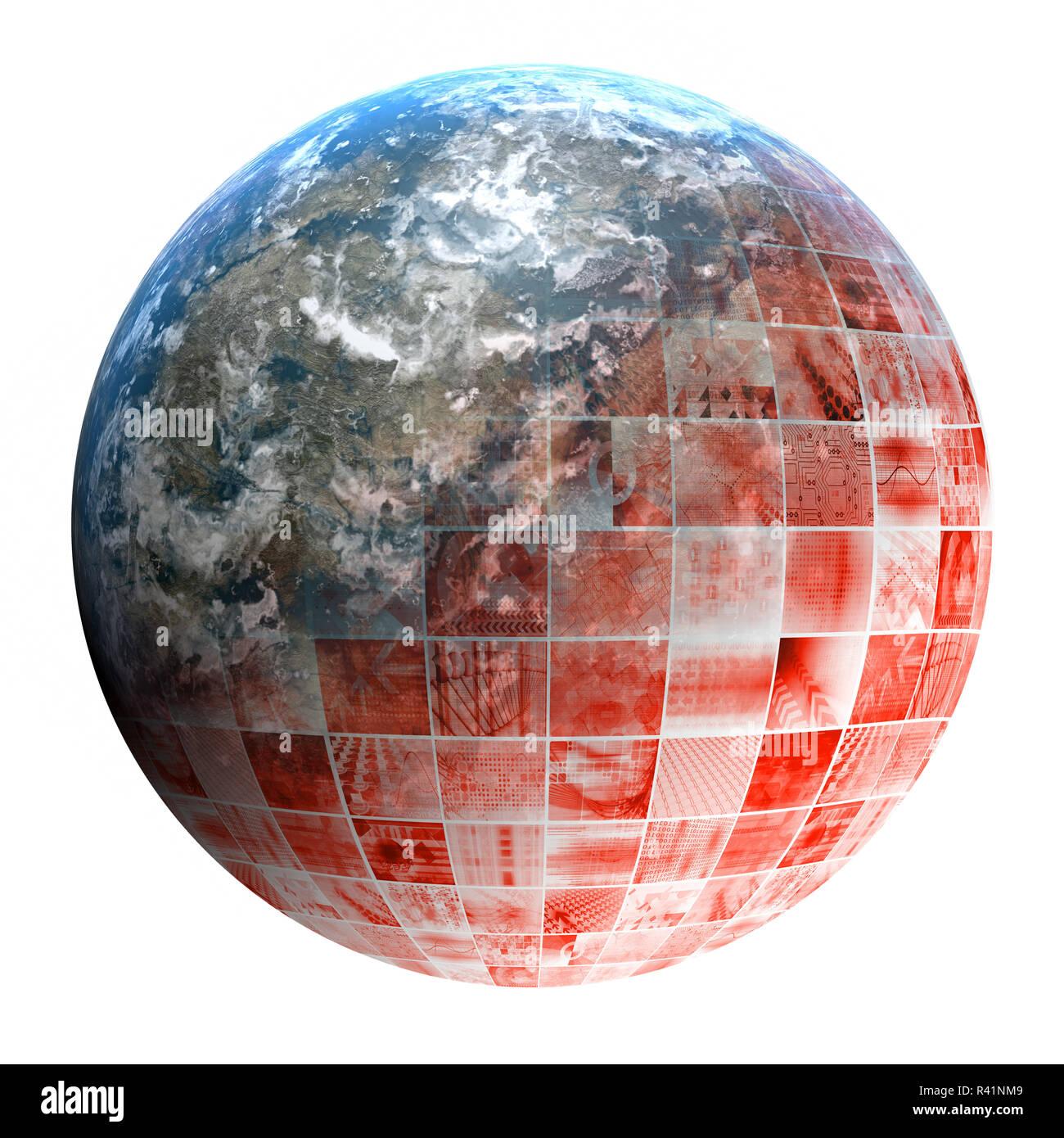 Multimedia Marketing - Stock Image