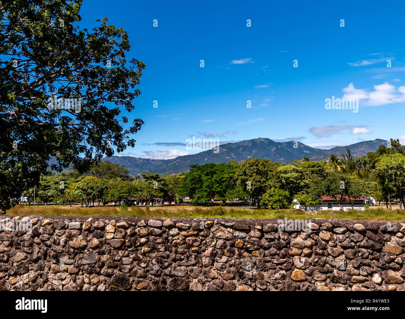 Guatemalan military base - Stock Image