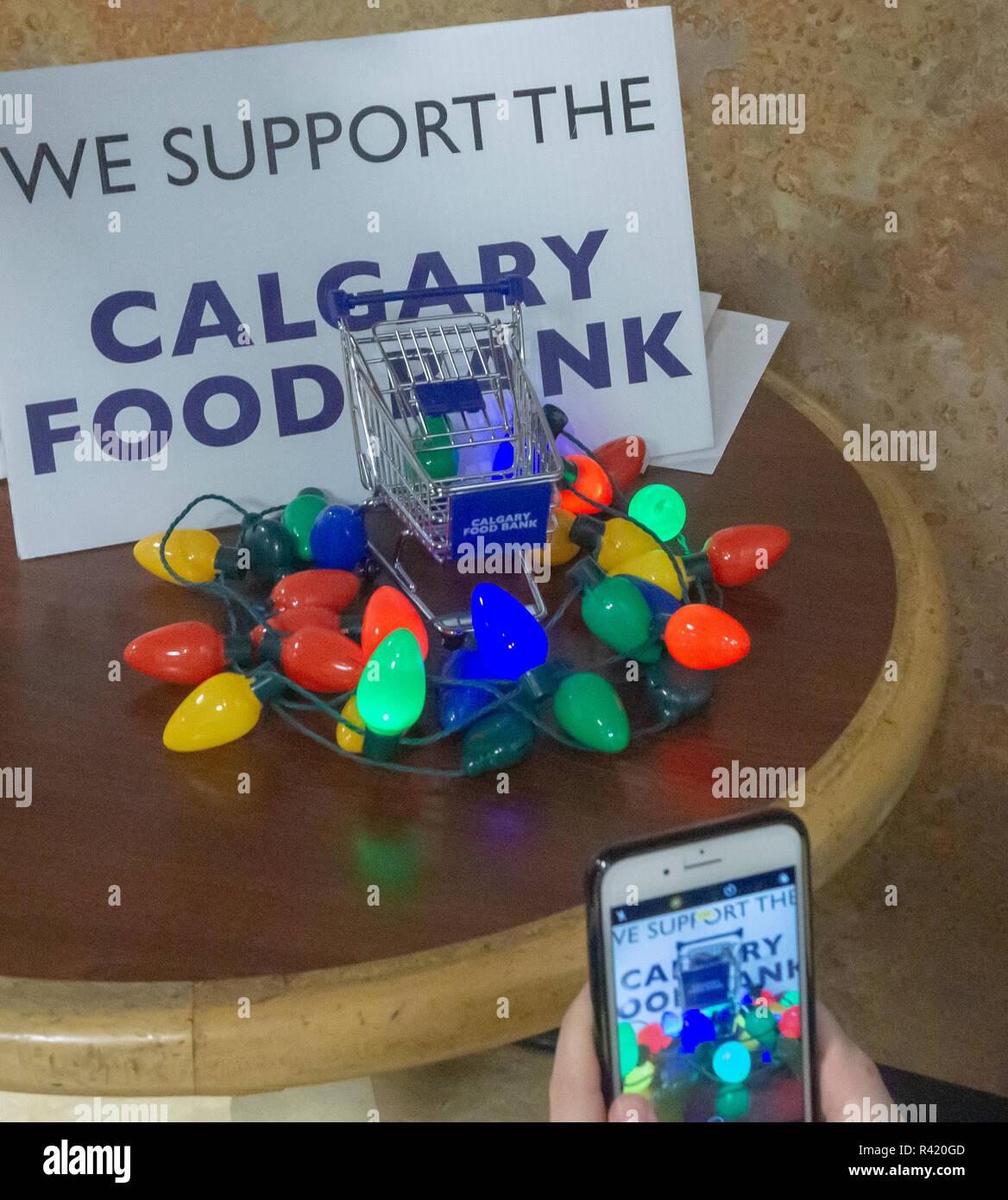 Calgary Food Back - Stock Image