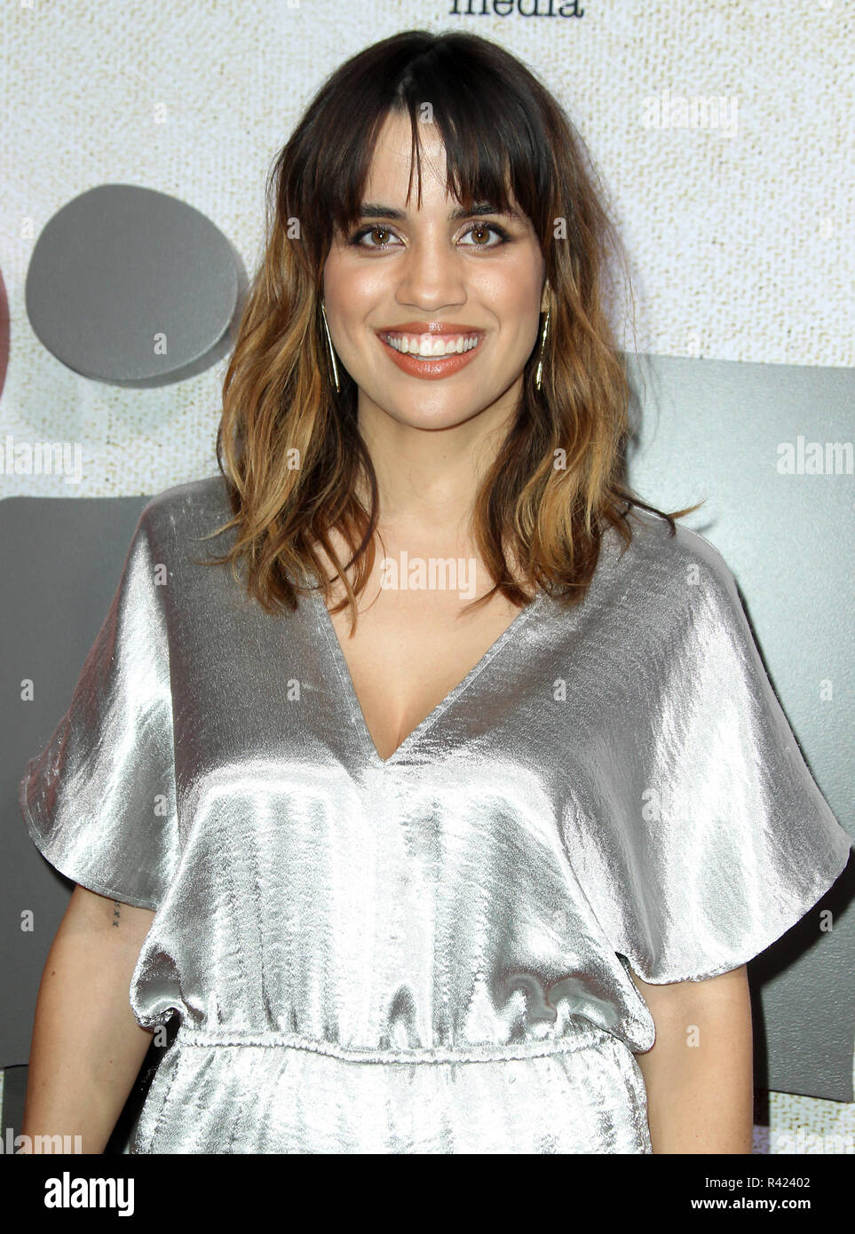 """""""Suspiria"""" Los Angeles Premiere held at The Arclight Hollywood Cinema Dome in Los Angeles, California.  Featuring: Natalie Morales Where: Los Angeles, California, United States When: 24 Oct 2018 Credit: Adriana M. Barraza/WENN.com Stock Photo"""