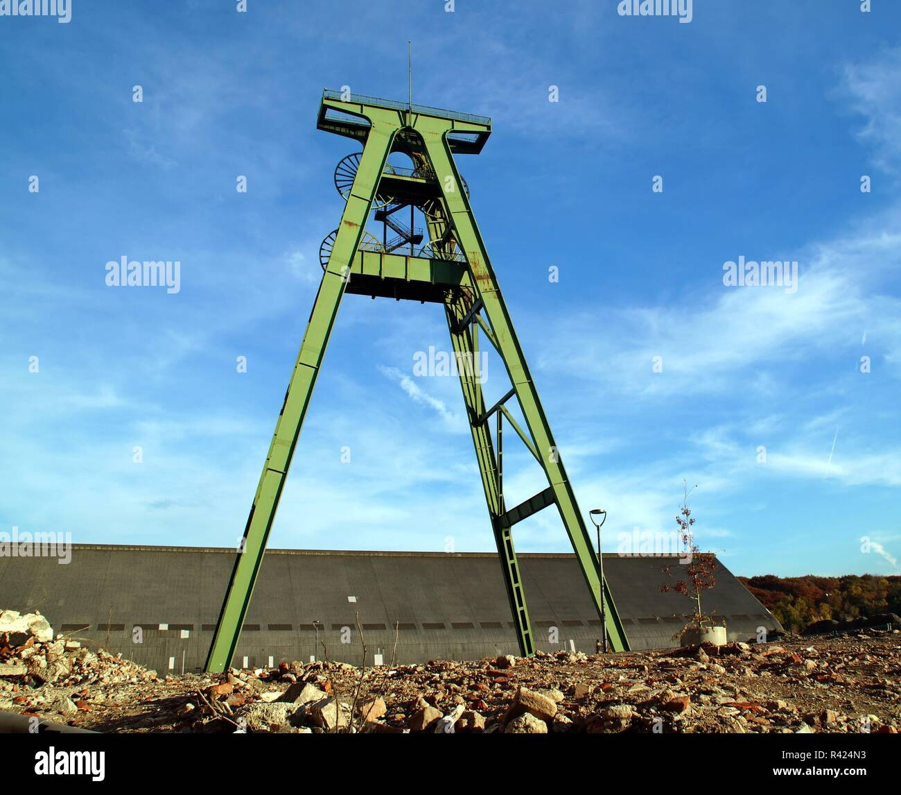 lohberg colliery - Stock Image