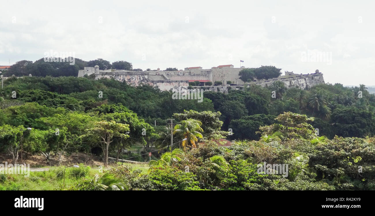 fortification in cuba - Stock Image